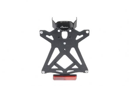 LighTech Adjustable License Plate Brackets - Aprilia Dorsoduro 1200 2011>